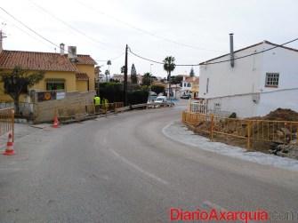 Inicio obras calle Mistral