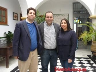 Abdeslam Lucena, Félix Lozano y María Leonor Muñiz  (Large)