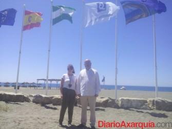 Bandera Roberto y Atencia Benajarafe