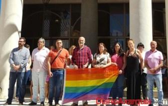 Rincón contra la homofobia.