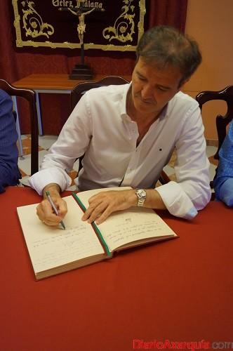 firma presidente Malaga