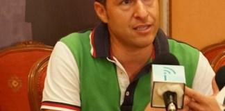 Óscar Medina, alcalde de Torrox.