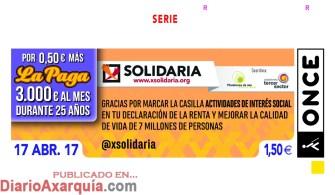 X SOLIDARIA 170417