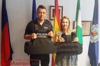 Moreno y Jefe Policía Local - Chalecos Antibala - 5 junio
