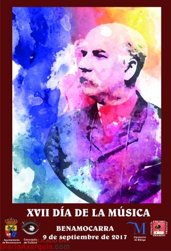 Cartel XVII Día de la Música 2017 en JPG