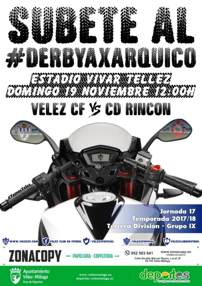 Gran derbi axárquico Vélez CF-CD Rincón