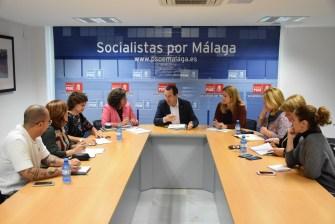 El PSOE de Málaga se echará a la calle el 25N para exigir al Gobierno la puesta en marcha del Pacto de Estado contra la Violencia de Género