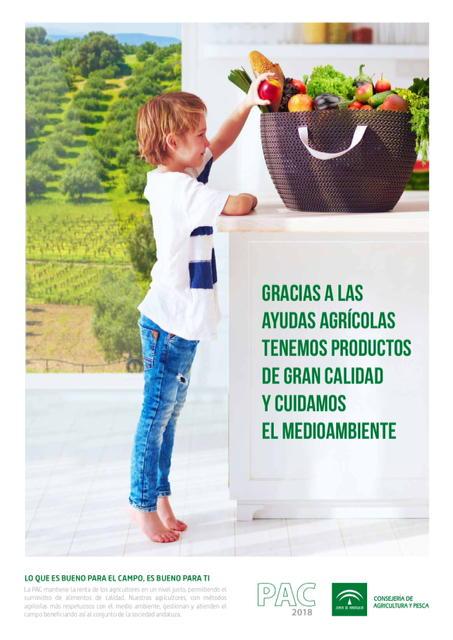 Agricultura pone en marcha una campaña para concienciar a la sociedad sobre la importancia de las ayudas agrarias