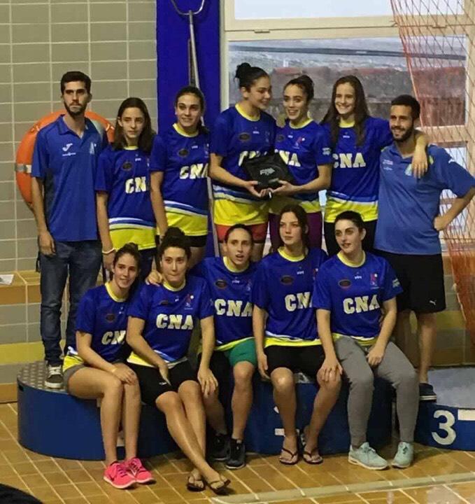 El Club Natación Axarquía asciende por primera vez en su historia a Primera Andaluza