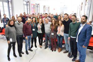 Ruiz Espejo llama a las Juventudes Socialistas de Málaga a coger la bandera de Andalucía y la bandera de la igualdad en el 40 aniversario del 4 de diciembre