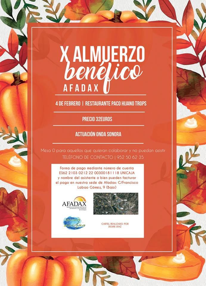 X Almuerzo Benéfico Alzheimer de AFADAX