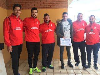 Charla de Godínez en el I Campus de Tecnificación del Fútbol Base Torreño