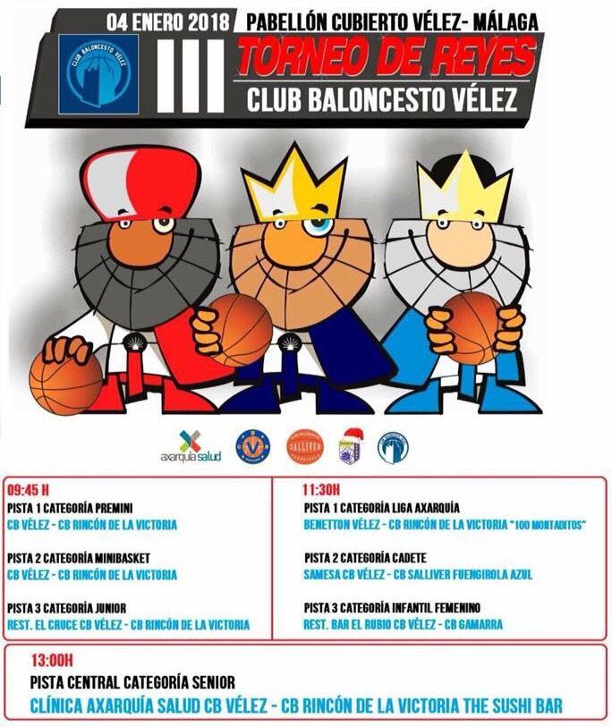 El baloncesto vuelve a Vélez en vísperas de los Reyes Magos