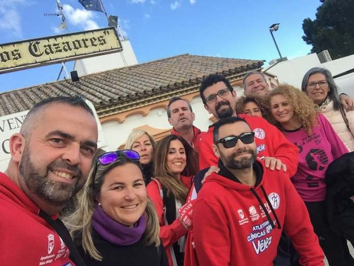 El atletismo veleño, de ruta por Andalucía