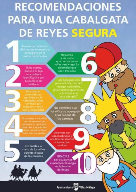 Horario Cabalgata de Reyes en Vélez-Málaga