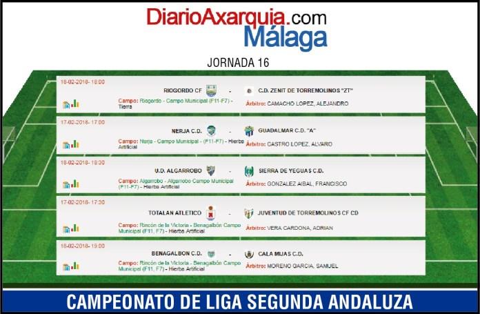 El Riogordo – Zénit marca la jornada de los axárquicos en Segunda Andaluza