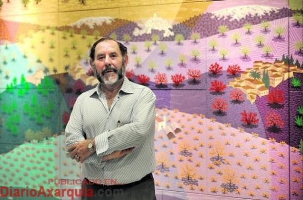 Los artistas veleños Evaristo Guerra, Antonio Hidalgo y Francisco Martín participan en la exposición colectiva 'Fronteras de Sal'