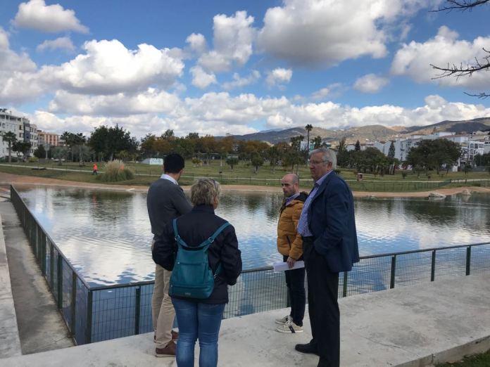 Continúan los trabajos de remodelación del Parque María Zambrano de Vélez-Málaga