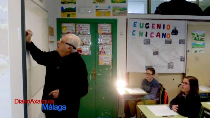 El Maestro Chicano trabajará sobre seis obras del autor y otras seis inéditas sobre Torre del Mar.