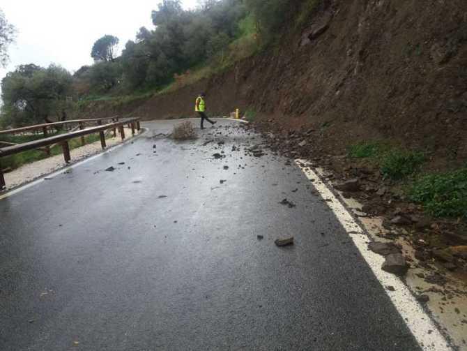 La Diputación de Málaga realiza más de un centenar de intervenciones por viento y lluvia desde el inicio del temporal Emma