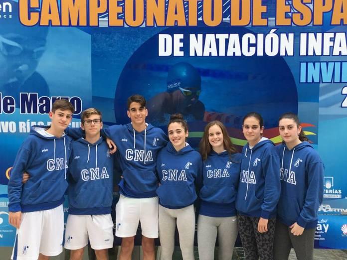 El Club Natación Axarquía participa en el Campeonato de España Infantil de Invierno