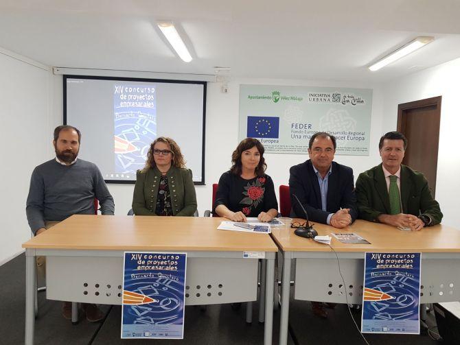 Vélez-Málaga entrega los premios de la XIV edición del Concurso de Proyectos Empresariales 'Bernardo Quintero'