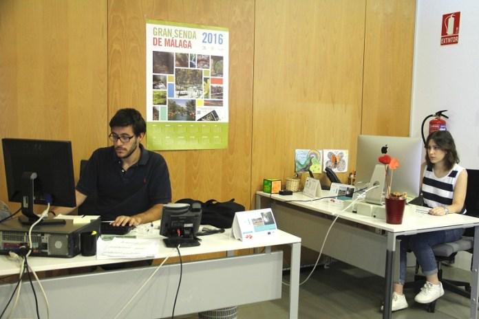 Estudiantes de la UMA comienzan prácticas en centros y servicios de la Diputación de Málaga durante seis meses