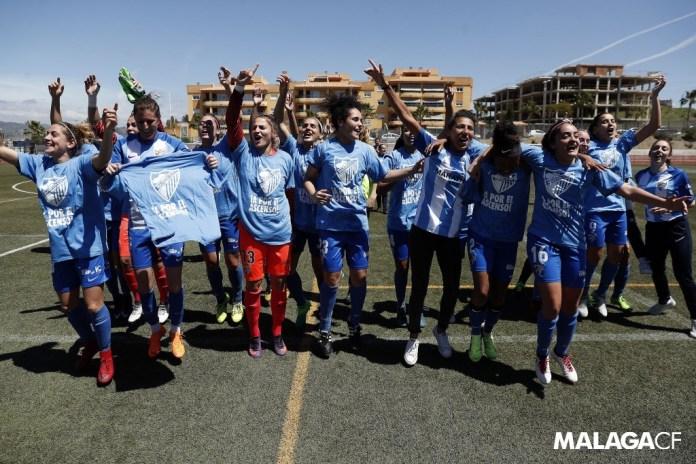 El Málaga CF Femenino luchará por el ascenso a Primera División