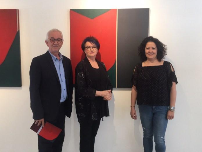 La exposición podrá visitarse desde el 15 de mayo hasta el 15 de junio y está compuesta por unas 30 obras en diferentes formatos.