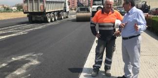 En los próximos días continuarán los trabajos con la instalación de pérgolas y la habilitación de zonas de aparcamientos, con una inversión total de 51.000 euros.