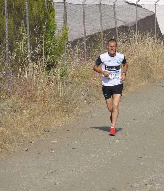 Rafael Roa Ruiz, del club Atletismo Rubeltor con un tiempo de 31:13.