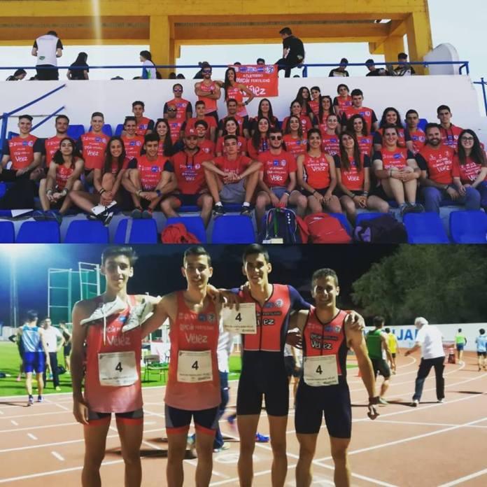 El Club Atletismo Vélez, en el Top5 de clubes de Andalucía