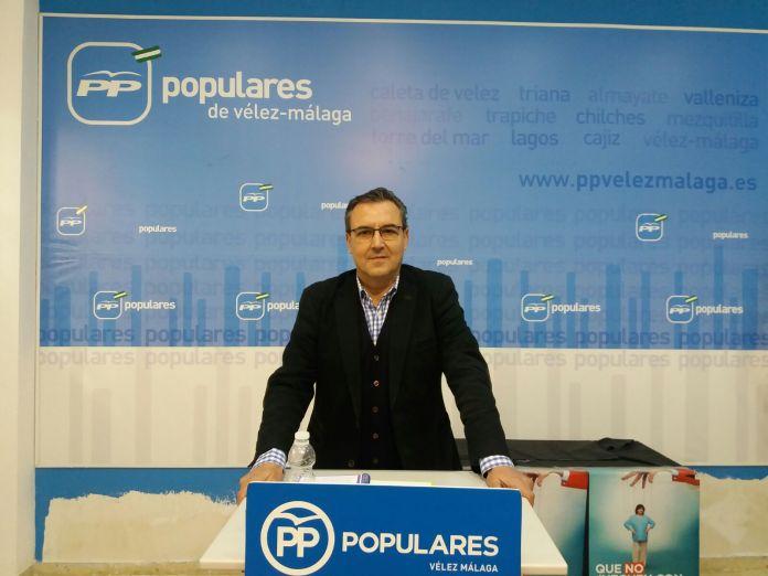 El PP valora los presupuestos de Vélez-Málaga y dice que «llegan tarde»