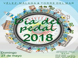 Este domingo se celebra el Día del Pedal Vélez-Málaga y Torre del Mar 2018