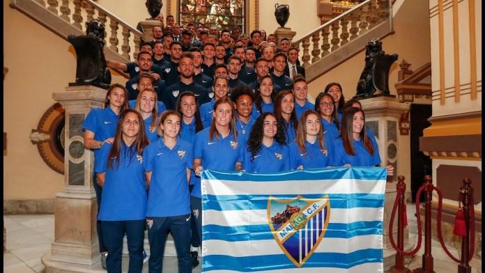 Málaga homenajea al Femenino y al Atlético Malagueño
