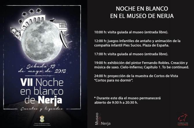 El Museo de Nerja se suma a la Noche en Blanco