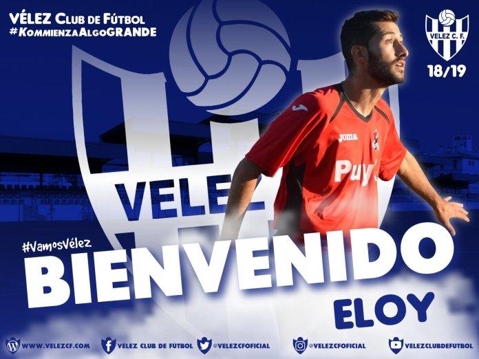 El Vélez Club de Fútbol ficha a Eloy