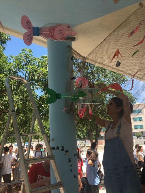 El IES Miraya de Mar celebra el 5º Día del Medioambiente y Reciclaje
