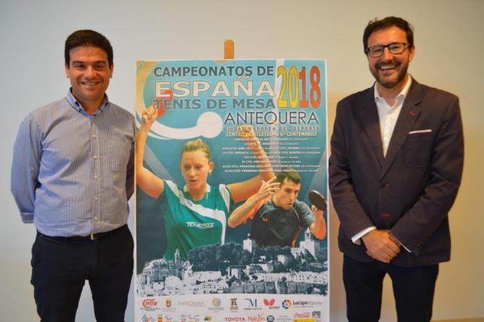Antequera acoge por tercera vez los Campeonatos de España de Tenis de Mesa con más de 1.500 deportistas