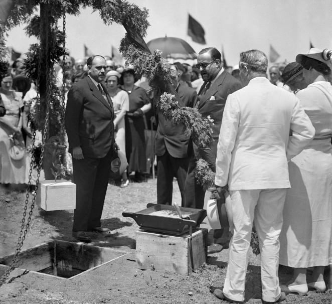 Hace 82 años se colocó la primera piedra de La Rosaleda