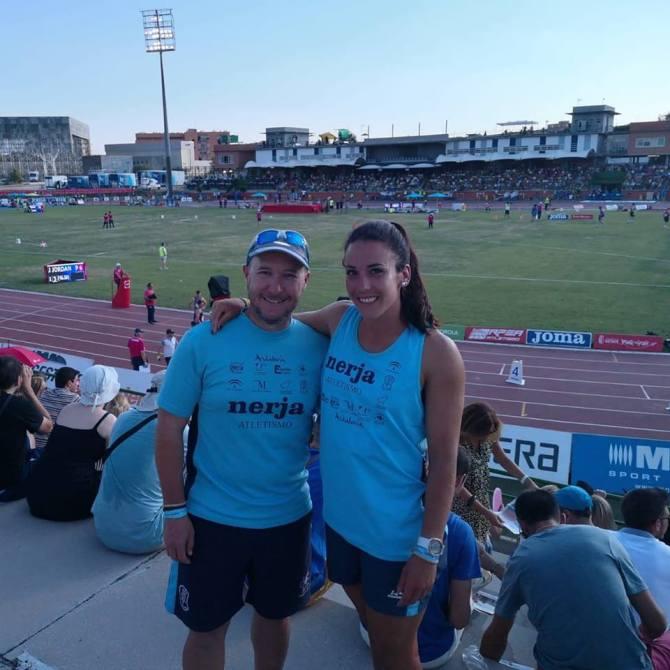 El Club Nerja Atletismo consigue dos nuevos récords en el Campeonato de España Absoluto