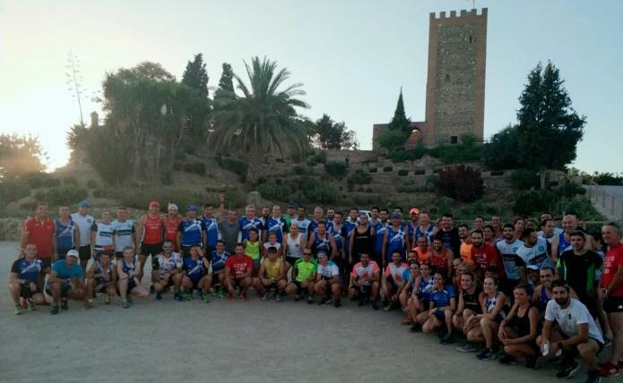 Quedada para 'probar' el recorrido de la II Carrera Nocturna de Vélez
