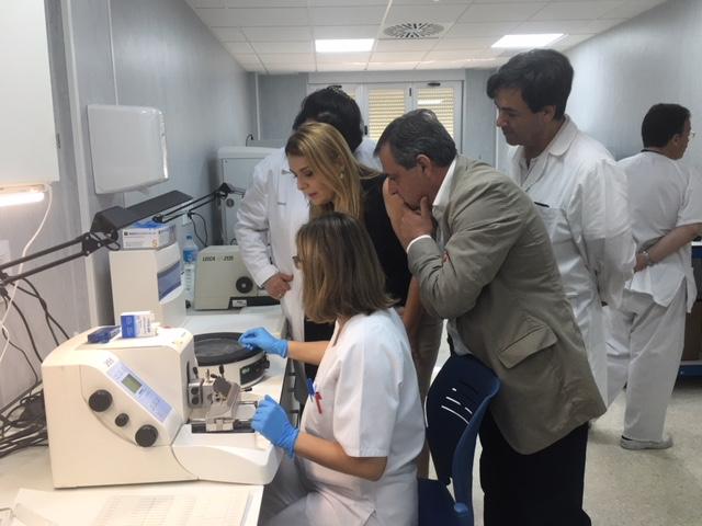 El Área Sanitaria Málaga-Axarquía concluye las obras de renovación de las instalaciones de Anatomía Patológica