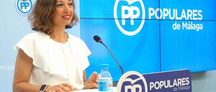 La parlamentaria andaluza por el PP de Málaga Patricia Navarro.