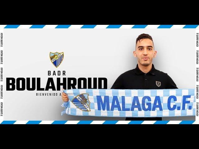 Badr Boulahroud abre la temporada 18/19 de fichajes del Málaga CF