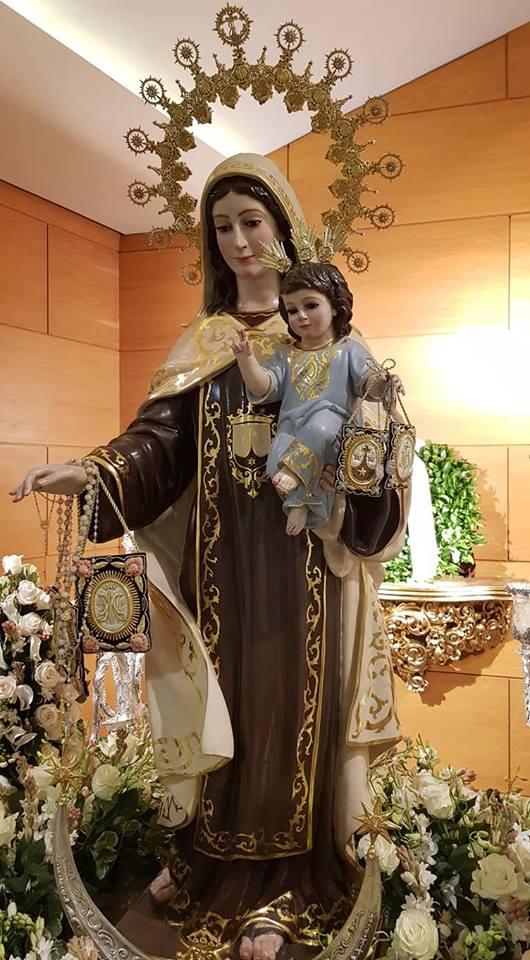 Procesión de la Virgen del Carmen de Torre del Mar