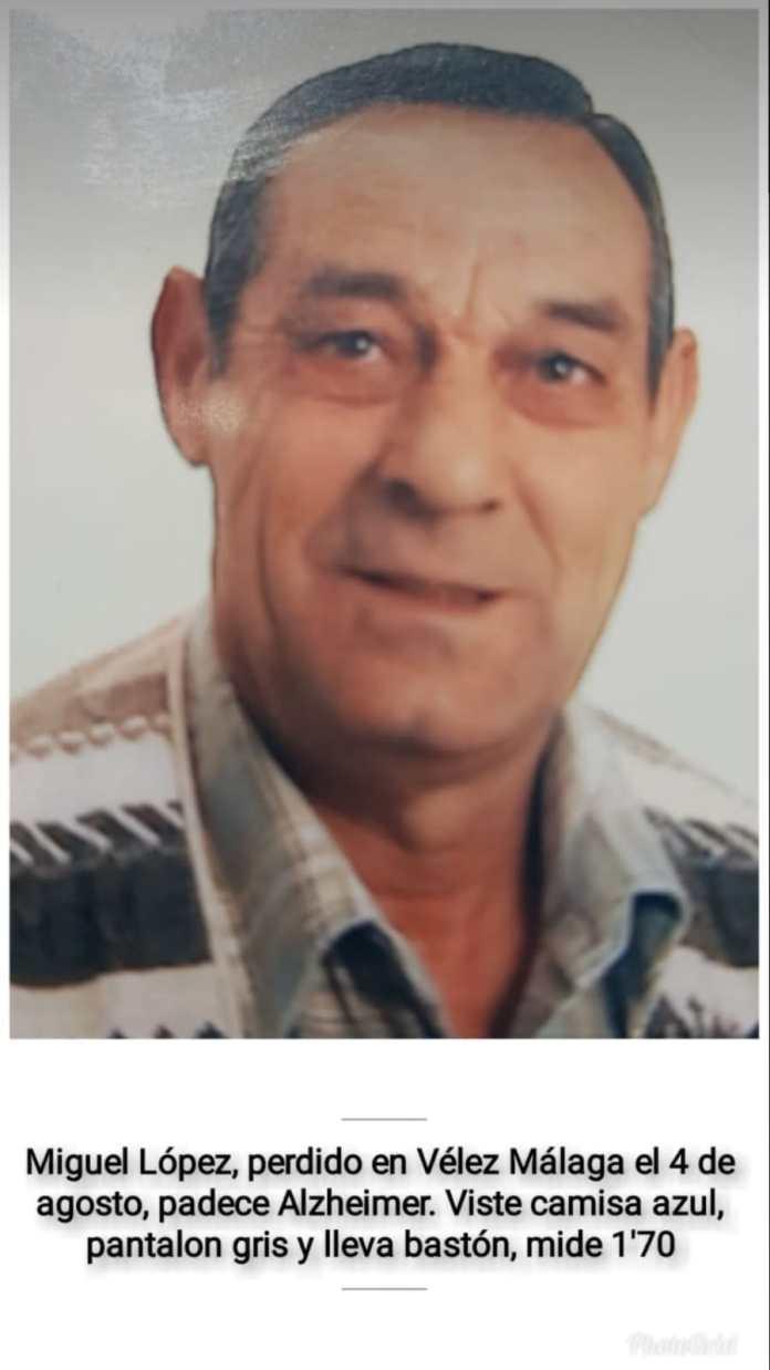 Buscan a un hombre desaparecido en Vélez-Màlaga