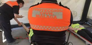 Protección Civil Málaga.