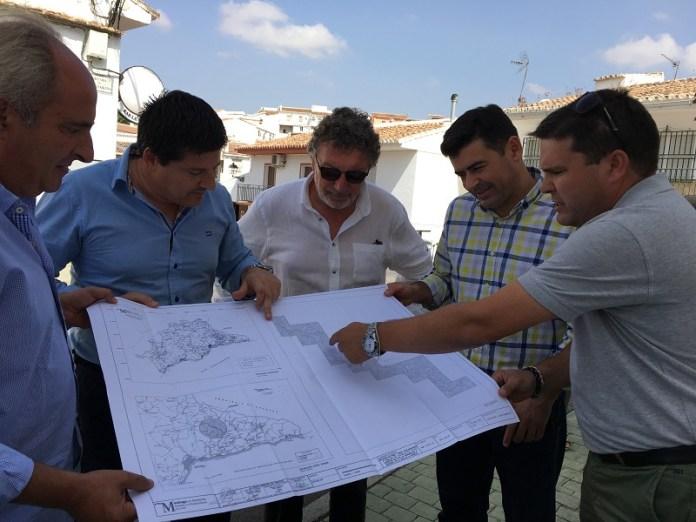 Comienza la segunda fase de las obras de reparación de la carretera MA-3107 entre Riogordo y Benamargosa