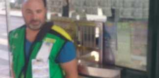 El vendedor Francisco Javier Guerrero Martos .